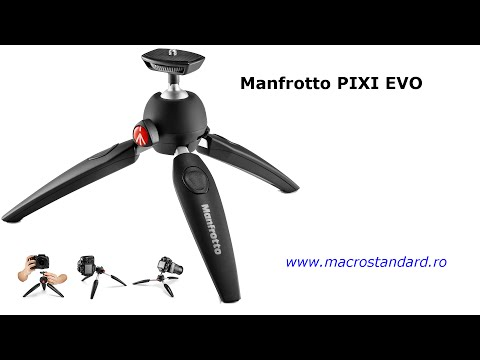 Minitrepied Manfrotto PIXI EVO