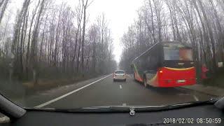 """""""Ej wsiadaj, bo widzę jak pędzisz!"""" Uczynny kierowca pomaga pieszemu, który spóźnił się na autobus"""