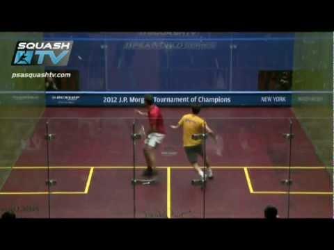 Squash : Amr Shabana v Miguel Angel Rodriguez : J.P. Morgan ToC Squash 2012