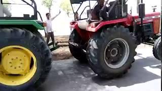 Massey Ferguson 9500 Vs John Deere 5310 Tractor Tochan Demo