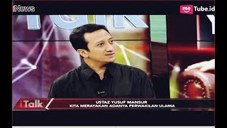 Video Euforia Yusuf Mansur Saat Nama KH Ma'ruf Amin Jadi Cawapres Part 01 - iTalk 09/09 MP3, 3GP, MP4, WEBM, AVI, FLV September 2018
