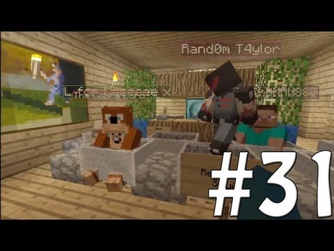 Minecraft Xbox - Sky Island Challenge - My Theater!! [31]
