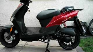 2. 2011 KYMCO AGILITY 50 EXCELLENT 49cc 4 STROKE SCOOTER