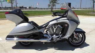 6. 003256   2011 Victory Vision TOUR Used motorcycles for sale