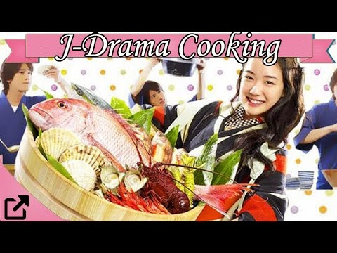 Top 10 Food & Cooking Japanese Drama 2015 (All The Time)