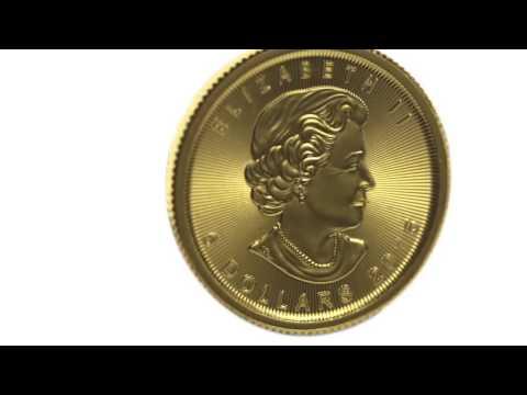 APMEX Gold Coins   2015 Canada 1/10 oz Gold Maple Leaf BU