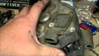CATASTROPHIC ALTERNATOR FAILURE 96-2005 4.2 V6 FORD F-150  - NEW NAPA 130 AMP INSTALLED
