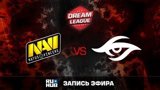 Natus Vincere vs Secret, DreamLeague Season 8, game 2 [GodHunt, DeadAngel]