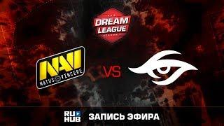 Natus Vincere vs Secret, DreamLeague Season 8, game 2 [GodHunt, DeadAngel]