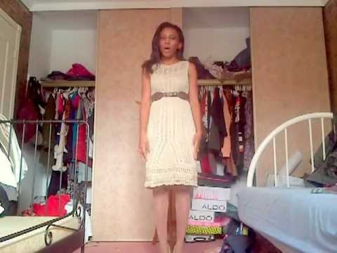 knee length - Tips on how to style a knee length dress to elongate your torso.