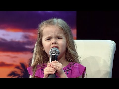 HOW FAR I'LL GO - DISNEY'S MOANA - LIVE PERFORMANCE BY 4-YEAR-OLD CLAIRE RYANN AT CHARITY