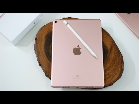 Rose Gold iPad Pro 9.7