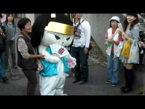 【ゆるキャラまつり2009速報版】いしだみつにゃん:滋賀県