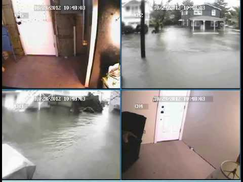 Security Cam View of Sandy from my House on LBI
