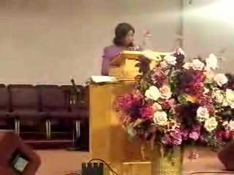 invisbible - Dr. Eulah M. Nelson preaching sunday morning