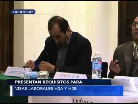 Presentan requisitos para visas laborales H2A y H2B