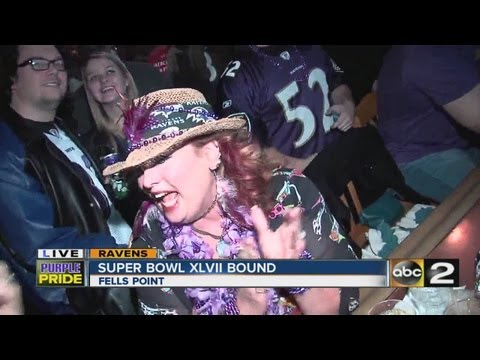 Fans Celebrate in Baltimore