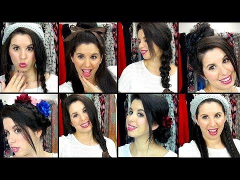 8 Easy & Effortless School Hairstyles!
