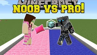 Minecraft: NOOB VS PRO!!! - PILLOW FIGHT! - Mini-Game by PopularMMOs