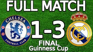Video Chelsea FC VS Real Madrid 1-3 FULL MATCH 07.08.2013 HD (Guinness Cup - FINAL) (ENGLISH COMMENTARY) MP3, 3GP, MP4, WEBM, AVI, FLV Mei 2018