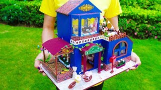 Video DIY Miniature Doll House - Dandelion MP3, 3GP, MP4, WEBM, AVI, FLV Agustus 2018