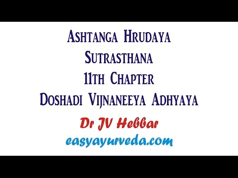 Video Ashtanga Hrudaya Sutrasthana 11th Chapter Shloka Recitation download in MP3, 3GP, MP4, WEBM, AVI, FLV January 2017