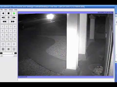 Ghost Caught By Home Security Camera