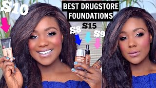 "HEY GUYS, this is a mini review on top drugstore foundations  / high end foundation for Oily, Dry, Acne Coverage for Black Women/ Dark Skin oily skin. I have foundations for acne, full coverage, hyper pigmentation, dark spots, and more. P.S my voice might sound weird in today's video, I was sick when i filmed this a week ago:) jesus take the wheel..SUBSCRIBE LINK:http://bit.ly/1RDpkFtSUBSCRIBEWhen I'm not on here, I'm here:)http://www.roselkimberly.com/http://instagram.com/roselkimberlyhttps://twitter.com/RoseLKimberlySnapchat- roseyrosechickTOP 3 PLAYLISTSHOW TO VIDEO'S Black Woman: https://www.youtube.com/watch?v=A7kmk...Makeup Tutorials:https://www.youtube.com/watch?v=UbENJ...Drugstore Reviewshttps://www.youtube.com/watch?v=sgnBc...♥ ♥♥ ♥♥ ♥♥ ♥♥ ♥♥ ♥♥not sponsored.Camera: Nikon d5100Editing: Final Cut Pro 10For any business inquiries please use the email below with the subject ""Rose Kimberly"": business@beaufreshmedia.comR O S E K I M B E R L Y NEW video every Wednesday, and Sunday 10:00pm EST/07:00pm PST! I'm a 22 NYC girl who Graduated with my bachelor's in Cosmetics Chemistry and Marketing. I studied makeup, hair, nail, skincare + MORE.Subscribe & Let's be friends!3 PRODUCTS MENTIONED + Watch the video to see all mentions-NEUTROGENA HEALTHY SKIN FOUNDATION-MILANI 2 IN 1 FOUNDATION-GIORGIO ARMANI LUMINOUS SILK FOUNDATION"
