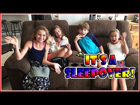 What Happens At A Sleepover? | We Are The Davises