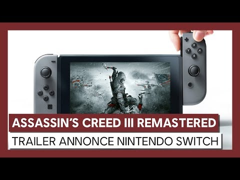 Nintendo Switch : Trailer d'Annonce de Assassin's Creed III Remastered