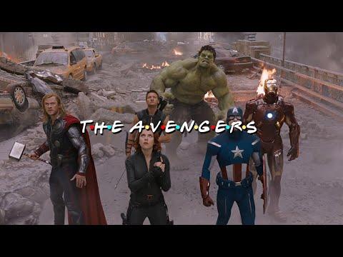 完全無違和!《復仇者聯盟》搭《六人行》配樂秒變溫馨片