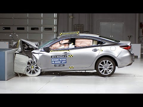 2016 mazda6 crash test the sedan earns the iihs top. Black Bedroom Furniture Sets. Home Design Ideas