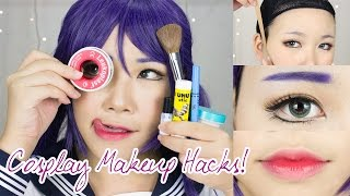 Video 8 Cosplay Makeup Hacks EVERYONE Should Know! | Face Taping, Brow Concealing, Anime Lips MP3, 3GP, MP4, WEBM, AVI, FLV Juli 2019