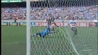 Os gols de Fluminense 1 x 3 Coritiba pela 19&170; rodada do Brasileir&227;o 2009.