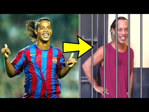 WHAT HAPPENED TO RONALDINHO? From world's best №10 to Prisoner №194 in jail!