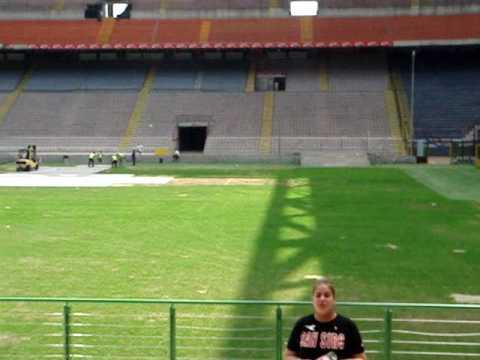 Tour por el Stadio San Siro