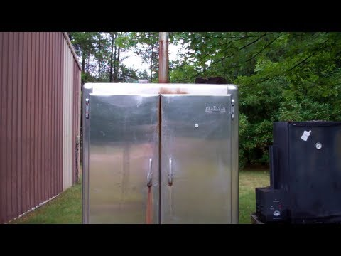 Smoker - See My Most Popular Video's By Category On Pinterest! http://www.pinterest.com/larryhall50/boards/ Here are some links to things I have smoked in this Smoker...