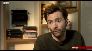 David Tennant Interviewed On BBC Scotland About Mad To Be Normal