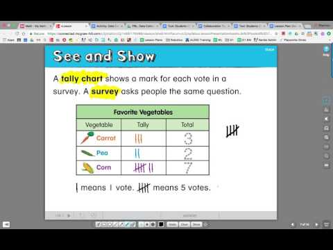 Tally Chart Flipped Lesson