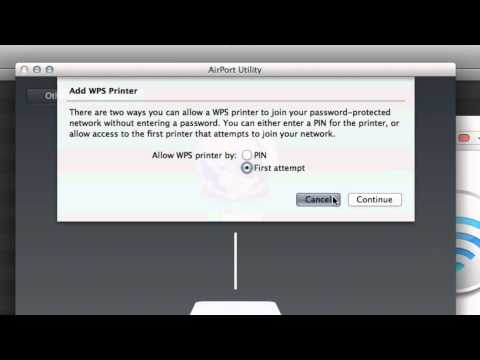 Easily Connect a WPS Printer to Apple Airport Extreme [How to]