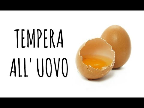 tutorial fai da te: preparare in casa della tempera all'uovo
