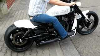 7. Harley Davidson Night Rod Special, Airride, VRSCDX, White Attack