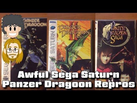 Awful Sega Saturn Panzer Dragoon Repros - #CUPodcast