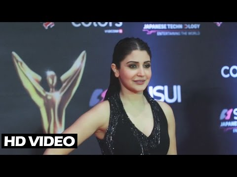 Anushka Sharma At Sansui Colors Stardust Awards 2016