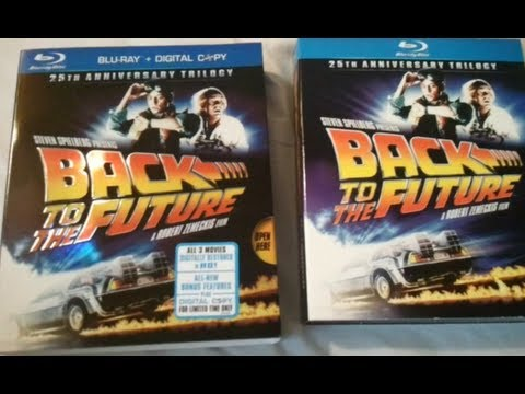 Back To The Future Trilogy (1985-1990) - Blu Ray Review And Unboxing
