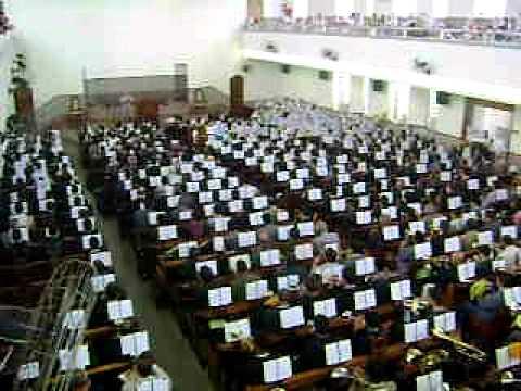 Ensaio Regional da CCB em Marília 24/10/2010