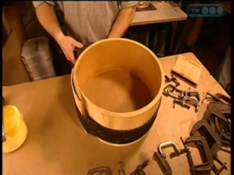 Как сделать барабаны из дерева