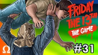 REVENGE OF THE NERDS! | Friday the 13th The Game #31 Ft. Friends