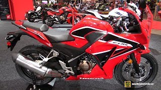 9. 2018 Honda CBR300R - Walkaround - 2018 Toronto Motorcycle Show