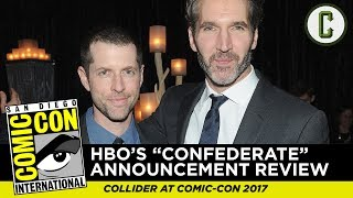 "Josh Macuga and David Griffin discuss HBO's new show announcement for ""Confederate"", from SDCC 2017 - San Diego Comic ..."